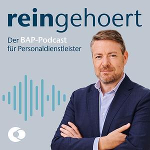 """""""reingehoert"""" – Der Podcast für Personaldienstleister Cover"""