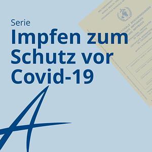 Impfen zum Schutz vor Covid-19 Cover