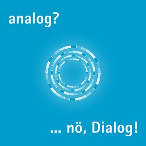 analog? nö, Dialog! Cover