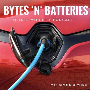 BYTES 'N' BATTERIES - Dein E-Mobility Podcast Cover