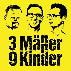 3 Männer - 9 Kinder Cover